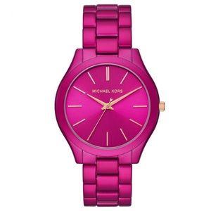MK pink watch